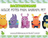 BACKYARDIGANS - MOLDE PARA PET