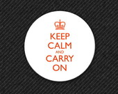 Botton Keep Calm and Carry On