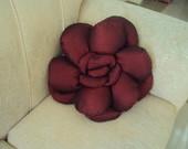almofada flor tafet�