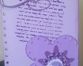 AGENDA 2012 Scrapbook Flor Lils