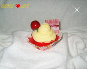 CupCake de  de toalha.