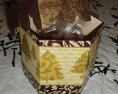 Porta Panetone p/ 750 gr - Decoupage/Met