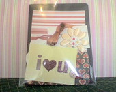 KIT Cart�o - I Love You