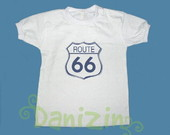 T-Shirt Beb e Infantil ROUTE 66