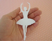 Aplique Ballerina Dream White (A228)
