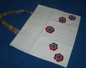 ECOBAG - 5 Flores de Croch