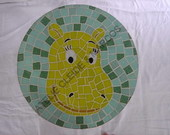 BANCO MOSAICO BACKYARDIGANS TASHA