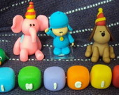 Turma do Pocoyo Topo de bolo - 2
