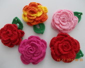 Flores em Croche