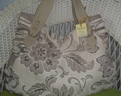 BOLSA DANIELY floral bege