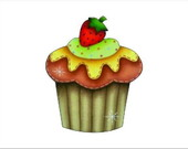 BOT002 - BOTO CUPCAKE VERDE (6P)