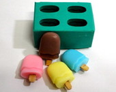 Molde de silicone: Mini Picols.