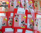 CONVITE SCRAPBOOK - MINNIE E MICKEY