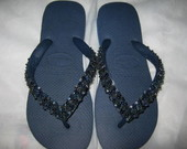 HAVAIANAS TOP MARINHO FURTACOR + EMBALAG