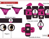 KIT FESTA DIGITAL - CH� DE LINGERIE