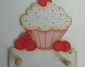 Porta pano de Prato Cupcake