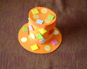 "Mini Top Hat ""Chiclets"""