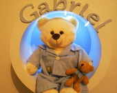 NICHO C/LED-URSO com PIJAMA (Lindo)