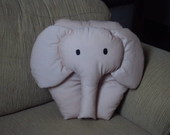 Almofada Elefante rosa