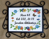 Placa Decorativa
