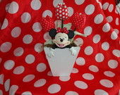 enfeite de mesa &quot;minnie&quot;