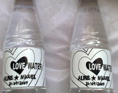Aguas Personalizadas LOVE WATER