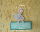 Kit de Pintura: Coelho Happy Easter