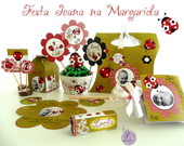 Kit Festa Personalizada Joana  Margarida