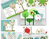 Kit Festa Personalizada Jardim de Frutos