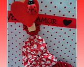 VARAL DECORAO,   VARAL DO AMOR...
