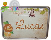 PLACA DE MOTO DECORATIVA - NASCIMENTO
