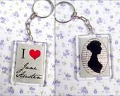 Chaveiros Jane Austen