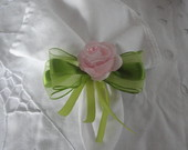 PORTA GUARDANAPO LACO ORGANZA 38MM FLOR