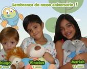 Lembracinha Peixonauta Ima De Geladeira Viva Convites R   1 00