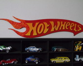 Quadro organizador Hot Wheels