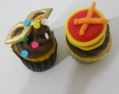 Mini Cupcakes no tema Baile  Fantasia