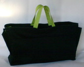 Bolsa Organizadora Preta/Verde