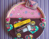 Porta Cartas Bastidor &quot;Sweet Heart&quot;