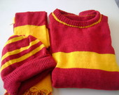 Kit fantasia harry potter quadribol