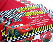 Convite ingresso Carros Disney