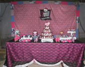 Monster High Decorao de Festa