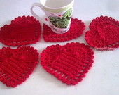 COASTERS (PORTA-COPOS) LOVE HEART