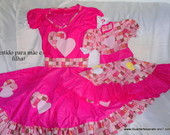 Vestido &quot;Me e filha&quot;