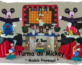 Decora��o clean ou proven�al do mickey