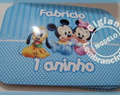 Marmitinhas Personalizadas Mickey Baby
