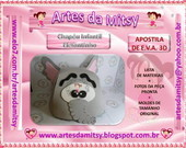 CHAPU INFANTIL ELEFANTE