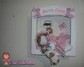 quadros Maternidade meninas