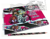Alb�m de adesivos Monster High