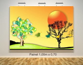 Painel para sala de TV / SOM