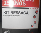Kit ressaca caixa remdio